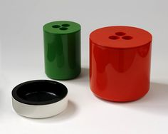 Ice Bucket, Tub and Ashtray, Martin Roberts and Conran Associates, Crayonne Ltd, 1974