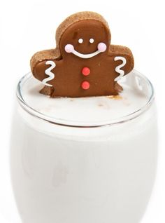 Floating Gingerbread man cuteness