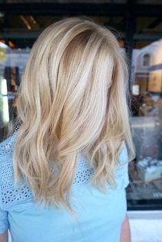 natural hair color blonde hair