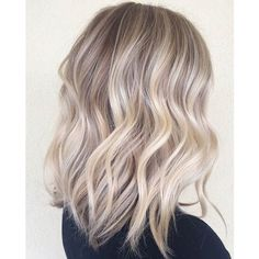 47 Hot Long Bob Haircuts and Hair Color Ideas ❤ liked on Polyvore featuring hair