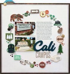Cali Campus | Simple Stories - Scrapbook.com