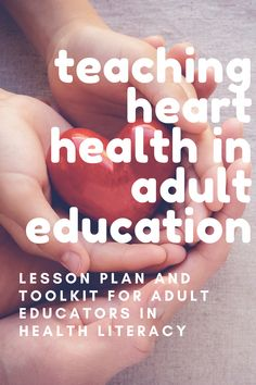 The toolkit from FLC provides a listing of plain language resources and activities that you can easily add to your curriculum. Teach heart health with videos, reading texts, vocabulary activities, and interactive games (including Jeopardy). Heart Health Month, Health Literacy, Literacy Programs, Vocabulary Activities, Activity Ideas, Getting Things Done, How To Stay Healthy, Curriculum, Texts
