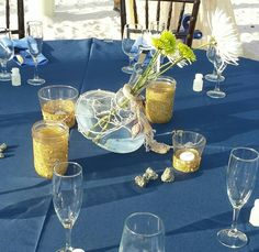 Centerpieces by Michele Olvera