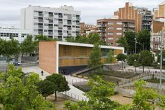 Completed in 2008 in Barcelona, Spain. Images by Carles Climent. The main objective is to achieve a comfortable building for the elderly, a space in which users are comfortable, a place with which they can...
