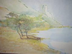 """""""Südsardinien"""" gemalt von Emo Schuschnig"""