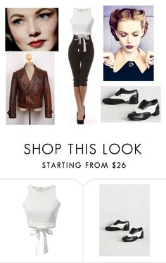 """""""Untitled #374"""" by bailey-trying-to-be-cool ❤ liked on Polyvore featuring Stop Staring! and Retrò"""