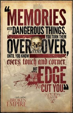 Mark Lawrence Quote Poster #1 by Shawn King, via Behance