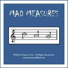 MAD MEASURES is an exciting sight-reading game that your students will ask to play over and over. Inspired by the poison rhythm game, MAD MEASURES is designed to reinforce and increase your students' ability to read notes on the treble clef staff.