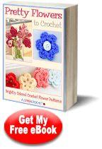 Pretty Flowers to Crochet: Brightly Colored Crochet Flower Patterns | AllFreeCrochet.com