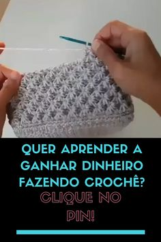 Crochet Bag Tutorials, Crochet Stitches For Beginners, Crochet Stitches Patterns, Crochet Videos, Knitting Stitches, Crochet Projects, Cross Stitch Patterns, Knitting Patterns, Knitting Club