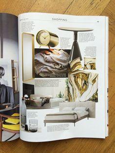 Tube clock in Brass by LEFF amsterdam & Piet Hein Eek – Eigen huis & Interieur