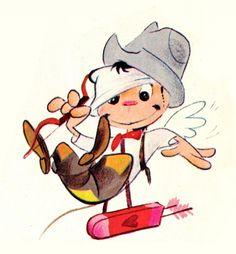 Recordando el show animado de Cantinflas, ilustraciones por Jose Luis Moro
