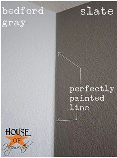 How to paint straight corners. This is how I paint my stripes!!