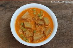 Kadge Randayi - Raw Jackfruit In A Spicy Coconut Curry. Jackfruit Curry, Jackfruit Recipes, Konkani Recipes, Mangalore, India Food, Coconut Curry, Indian Dishes, Curries, Spicy