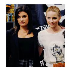 adorable achele. <3 ❤ liked on Polyvore featuring lea michele and dianna agron