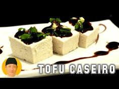 (36) Tofu caseiro queijo japonês - YouTube Sin Gluten, Feta, Cheesecake, Dairy, Desserts, Youtube, 36, Tofu Recipes, Asian Recipes