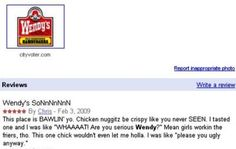 The Best Wendys Review Ever