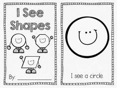 """I See Shapes"" Booklet FREEBIE!!!"