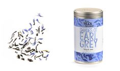 For Tea's Sake Shades of Earl Grey. Midnight blue cornflower pairs with traditional Earl Grey black tea to deliver a creamy tasting tea. No GMOs, Gluten Free. Blended and packed in Canada Collar Chain, Cruel Girl, Cowgirl Tuff, Earl Grey Tea, Tea Blends, Loose Leaf Tea, Western Outfits, Midnight Blue, Coffee Shop