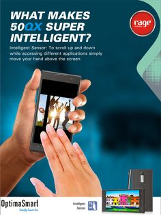 The Super Intelligent Smartphone- OPS 50QX!  #OptimaSmart #SmartPhone #RageMobiles   Know more: http://goo.gl/usOALk