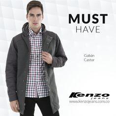 Un complemento imprescindible para días fríos, perfecto para utilizarlos con un look formal en la oficina. #KenzoJeans www.kenzojeans.com.co compra ahora ingresando a ow.ly/Ur8qH