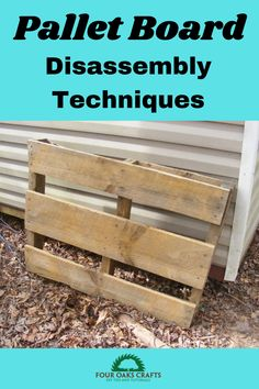 With lumber prices going sky high, the appeal of using pallet boards has also gone way up. Generally, this source of lumber is free, but it does require a little work to locate it and use it. This video will show you how to find pallets and how to disassemble them. I'll also talk about 3 pallet board projects that I have made with links to free tutorials and plans. Diy Furniture Projects, Diy Home Decor Projects, Outdoor Projects, Garden Projects, Free Tutorials, Craft Tutorials, Easy Woodworking Projects, Woodworking Plans, Handmade Products