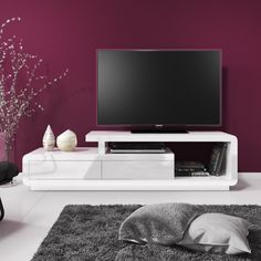 Evoque white high gloss tv unit stand with storage drawers white tv cabinet white tv cabinet . Entertainment Center Kitchen, Entertainment Center Decor, High Gloss Tv Unit, White Tv Cabinet, White Tv Unit, Living At Home, Tv Cabinets, Storage Drawers, Built Ins