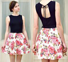 floral skirt dress - Pesquisa Google