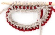 Tunisian Crochet, Crochet Yarn, Crochet Necklace, Knitting, Jewelry, Thread Crochet, Jewlery, Tricot, Jewerly
