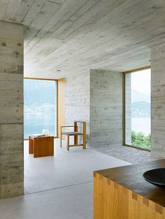 Concrete House by Wespi de Meuron Architekten