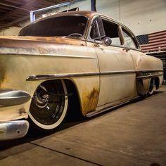 1954 Chevrolet With Steelies (Jimenez Bros Customs) (Detroit Steel Wheels) (Lords CC Riverside, CA) Hot Rod Trucks, Old Trucks, Classic Hot Rod, Classic Cars, Detroit Steel Wheels, Hot Rods, Roadster, Chevrolet Bel Air, Automobile