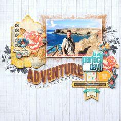 Adventure {Glitz Design} - Scrapbook.com