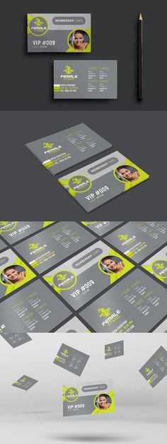 Elina business card Business Card Templates Business Card - membership cards templates