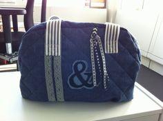 Ringelblümchen:  Die Kugeltasche, pattern by farbenmix.de, #taschenspieler2 #taschen #nähen #farbenmix #sewing #diy #bags