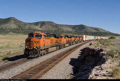RailPictures.Net Photo: BNSF 7845 BNSF Railway GE ES44DC at Seligman, Arizona by Tim Stevens
