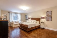 Humber Valley Family Home Master Bedroom