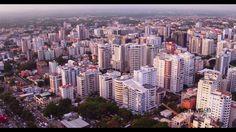 Ciudad de Santo Domingo, Rep. Dominicana (4k Drone View)