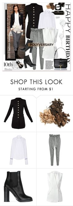 """""""Celebrate Our 10th Polyversary!"""" by stylemeup-649 ❤ liked on Polyvore featuring Vivienne Westwood Anglomania, Dolce&Gabbana, Esteban Cortazar, Chantecaille, polyversary and contestentry"""