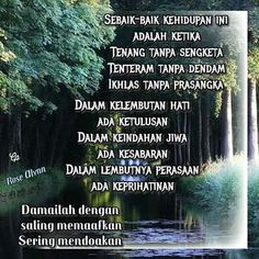 Doa, Islamic Quotes, Wise Words, Me Quotes, Inspirational Quotes, Allah, Night, Nature, Life