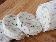 Blue cheese butter~ wonderful as it melts on a hot steak right off the grill!  yumm