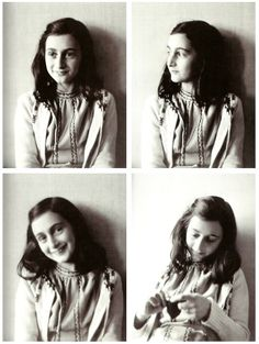 Anne Frank.....in the midst of a terrible war, she still had hope for a better tomorrow and passed that hope onto others