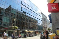 Down Town Malmoe in July 2013