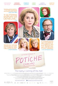 Potiche - Rotten Tomatoes. (Note from Jeff. I really enjoyed this French film, especially because the husband of Catherine Deneuve in the film was such a typical corporate creep..and she saved the company.