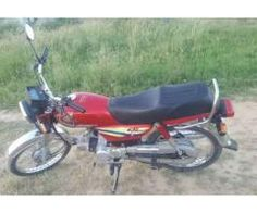 Honda Cd 70 Red Color Almost New Model 2014 For Sale in Lahore