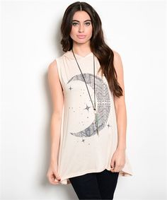 Love You To The Moon And Back Top. Summer Fashion 2015. www.psiloveyoumoreboutique.com