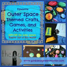 Solar System Projects - Outer Space Themed Crafts, Activities, and Games