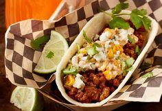 Beef Elote Taco Boats and Mexican Street Corn