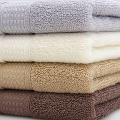nature combed cotton soft absorbent hand towel quality solid face towel skincare #Unbranded