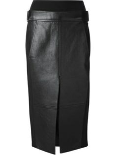 ALEXANDER WANG Leather Skirt