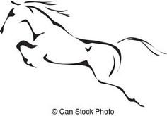 Simple horse graphghan potential!  Horses Illustrations and Clip Art. 21,978 Horses royalty free ...